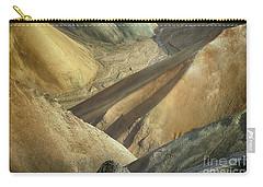 Landmannalaugar Natural Art Iceland 2 Carry-all Pouch