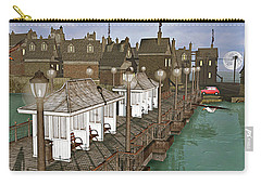 Lands End Pier Carry-all Pouch by Peter J Sucy