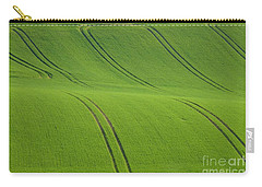 Carry-all Pouch featuring the photograph Landscape 5 by Jean Bernard Roussilhe
