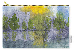 Landscape Reflection Abstraction On Masa Paper Carry-all Pouch