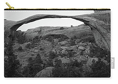 Landscape Arch Carry-all Pouch by Marie Leslie