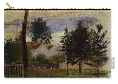 Landscape At Louveciennes Carry-all Pouch