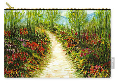 Carry-all Pouch featuring the painting Landscape by Harsh Malik