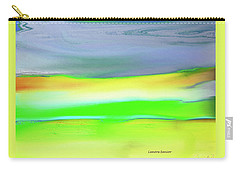 Carry-all Pouch featuring the painting Landscape In My Dreams by Lenore Senior