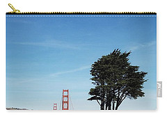 Landscape With Golden Gate Bridge Carry-all Pouch