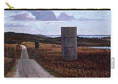 Landscape With Silos Carry-all Pouch