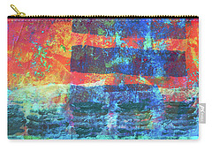 Carry-all Pouch featuring the painting Language by Nancy Merkle