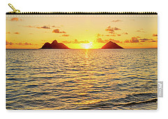 Lanikai Sunrise Between The Mokes Carry-all Pouch