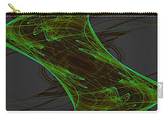 Carry-all Pouch featuring the digital art Lanjayling by Andrew Kotlinski