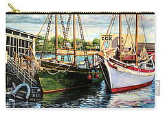 Lannon And Ardelle Gloucester Ma Carry-all Pouch by Eileen Patten Oliver