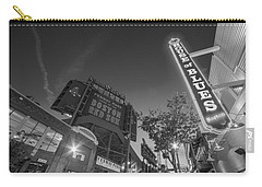 Lansdowne Street Fenway Park House Of Blues Boston Ma Black And White Carry-all Pouch