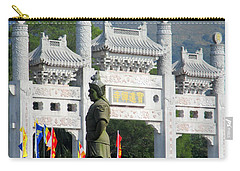 Carry-all Pouch featuring the photograph Lantau Island 51 by Randall Weidner