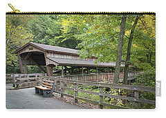 Lanterman's Mill Covered Bridge Carry-all Pouch