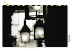 Carry-all Pouch featuring the photograph Lanterns Lit by KG Thienemann