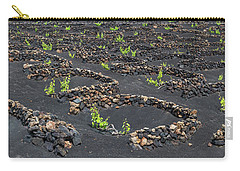 Lanzarote Vineyards Carry-all Pouch by Delphimages Photo Creations