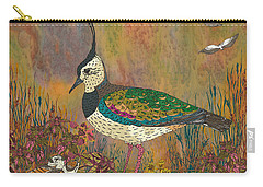 Lapwing Revival Carry-all Pouch by Lotti Brown