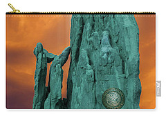 Lares Compitales - Guardian Spirits Of The Crossroads Carry-all Pouch