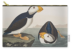 Large Billed Puffin Carry-all Pouch by John James Audubon