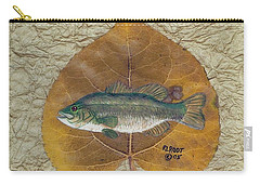 Large Mouth Bass #3 Carry-all Pouch