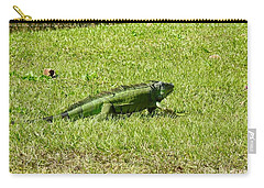Large Sanibel Iguana Carry-all Pouch