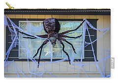 Large Scary Spider  Carry-all Pouch by Garry Gay