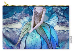 Carry-all Pouch featuring the painting Larmina by Mo T