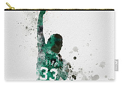 Larry Bird Carry-all Pouch by Rebecca Jenkins