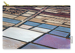 Carry-all Pouch featuring the photograph Las Salinas by Delphimages Photo Creations
