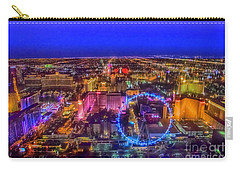 Las-vegas Aerial Golden Hour Carry-all Pouch