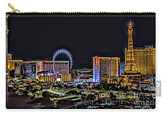 Las Vegas Night Skyline Carry-all Pouch