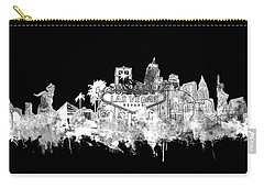 Las Vegas Skyline Black Carry-all Pouch