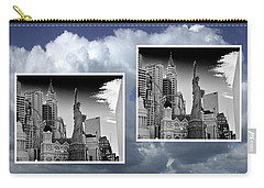 Carry-all Pouch featuring the painting Las Vegas,new York by Athala Carole Bruckner