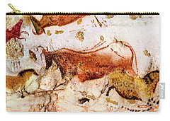 Lascaux Cow And Horses Carry-all Pouch