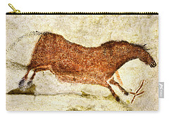 Lascaux Red Horse Carry-all Pouch