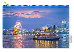 Laser Show Over Paul Brown Stadium  Carry-all Pouch