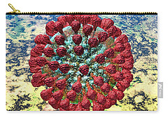 Lassa Virus Carry-all Pouch by Russell Kightley