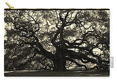 Last Angel Oak 72 Carry-all Pouch by Susanne Van Hulst