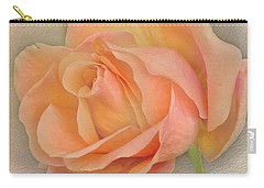Last Autumn Rose Carry-all Pouch by Jacqi Elmslie