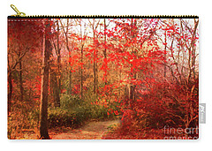 Last Color Of Fall Carry-all Pouch by Geraldine DeBoer