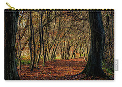Carry-all Pouch featuring the photograph Last Days Of Autumn by Jeremy Lavender Photography