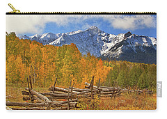 Last Dollar Road - Telluride - Colorado Carry-all Pouch by Jason Politte