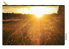 Carry-all Pouch featuring the photograph Last Glimpse Of Light by Jan Amiss Photography