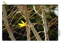 Last Leaf Carry-all Pouch by Kume Bryant