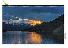 Last Light At Summit Cove Carry-all Pouch