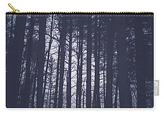 Carry-all Pouch featuring the photograph Last Light In The Forest by Shane Holsclaw