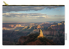 Carry-all Pouch featuring the photograph Last Light Mt Hayden by Gaelyn Olmsted