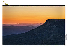 Carry-all Pouch featuring the photograph Last Light On The Rim  by Saija Lehtonen