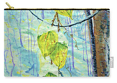 Last Of The Leaves Carry-all Pouch