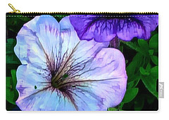 Last Of The Petunias   Carry-all Pouch