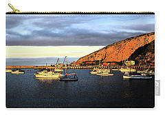 Carry-all Pouch featuring the photograph Last Rays At The Bay by Nareeta Martin